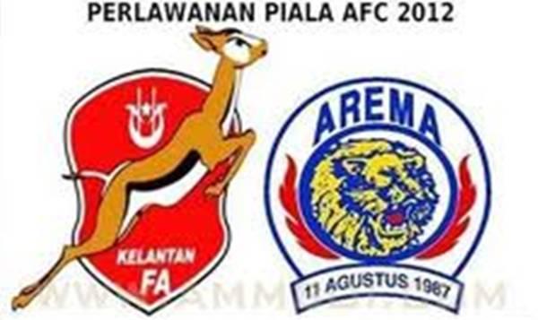 Arema indonesia vs kelantan 10 april 2012 | piala afc