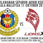 LIVE STREAMING ATM VS LIONS 11 OKTOBER 2012