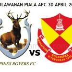 LIVE STREAMING TAMPINES ROVERS VS SELANGOR PIALA AFC 30 APRIL 2013