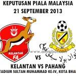 LIVE STREAMING KELANTAN VS PAHANG PIALA MALAYSIA 21 SEPTEMBER 2013