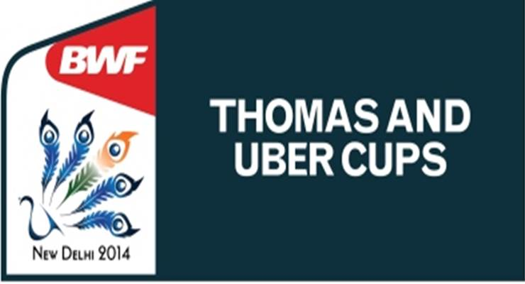 thomas uber cup 2014