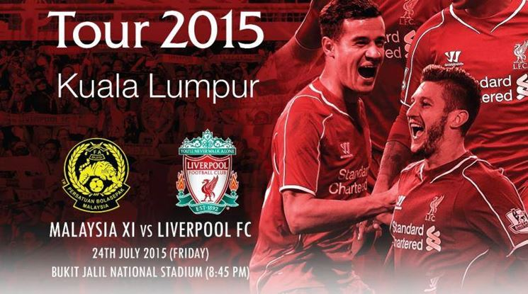 LIVE STREAMING MALAYSIA VS LIVERPOOL 24 JULY 2015